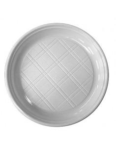 Mûanyag lapos tányér, 20 db