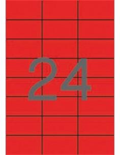 Etikett, 70x37 mm, színes,...