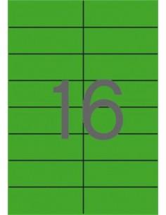 Etikett, 105x37 mm, színes,...