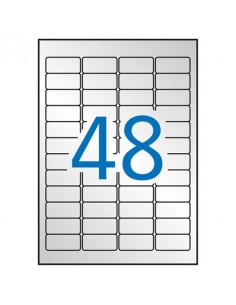 Etikett, 45,7x21,2 mm,...