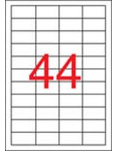 Etikett, 48,5x25,4 mm,...