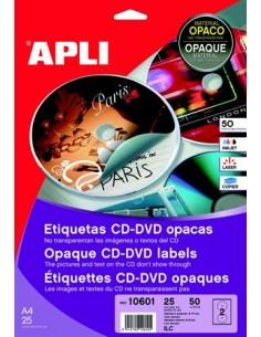Etikett, CD/DVD, A4, teljes...