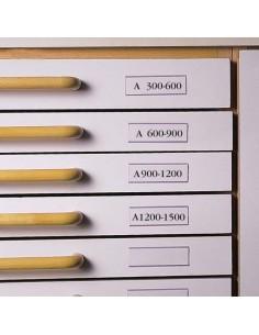 Címketartó zseb, 30x150 mm,...