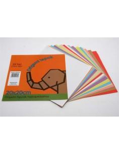 Origami papír, 20x20 cm, 20...