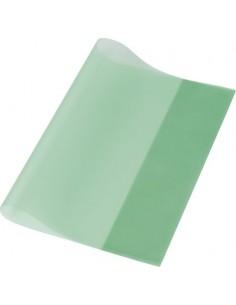Füzet- és könyvborító, A4, PP, 80 mikron, narancsos felület, PANTA PLAST, zöld