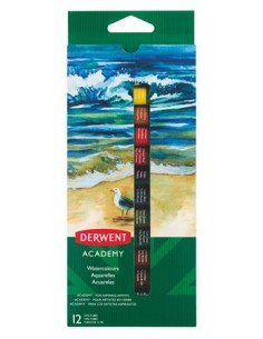 Tempera készlet, 12 darabos, 12 ml, DERWENT