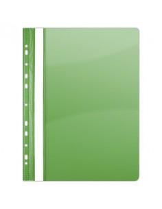 Gyorsfûzõ, lefûzhetõ, PVC, A4, DONAU, zöld