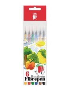 """Filctoll készlet, 1 mm, ICO """"Süni 300"""", 6 különböző szín"""