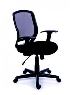 Irodai szék, karfás, fekete...