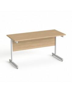 Íróasztal, szürke...
