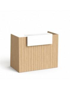 Recepciós asztal, 130x64,5...