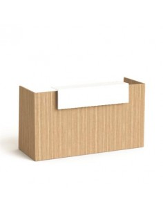 Recepciós asztal, 190x64,5...