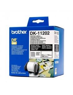 Brother DK11202 etikett (Eredeti)
