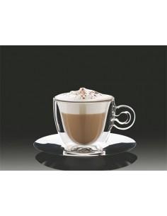Cappuccinos csésze rozsdamentes aljjal