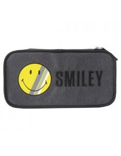 Tolltartó Smiley kompakt szögletes sötét szürke