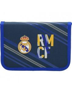 Tolltartó Real Madrid 1 kék/sárga 1 emeletes zippes